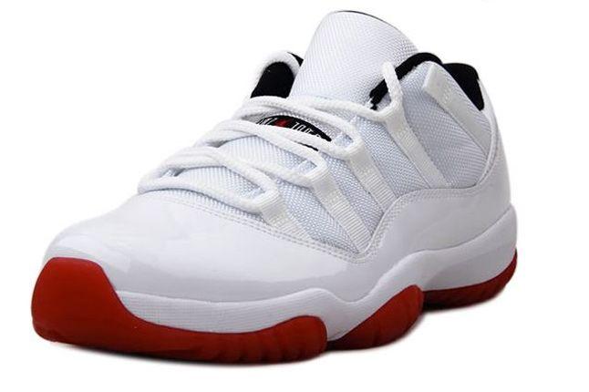 Air Jordan 11 Low White Red 04 1