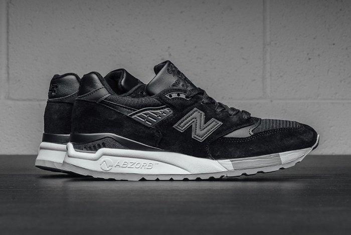 New Balance 998 Made In USA (Black/Grey