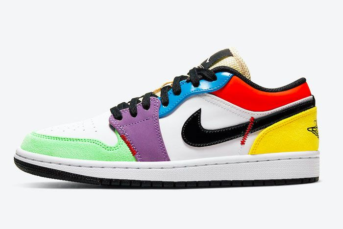 Air Jordan 1 Low Multicolour Left