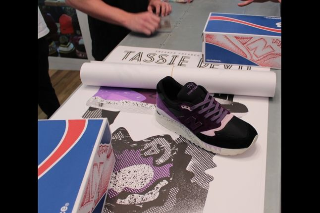 Sneaker Freaker X New Balance Tassie Devil Launch At Laced With Poster 1