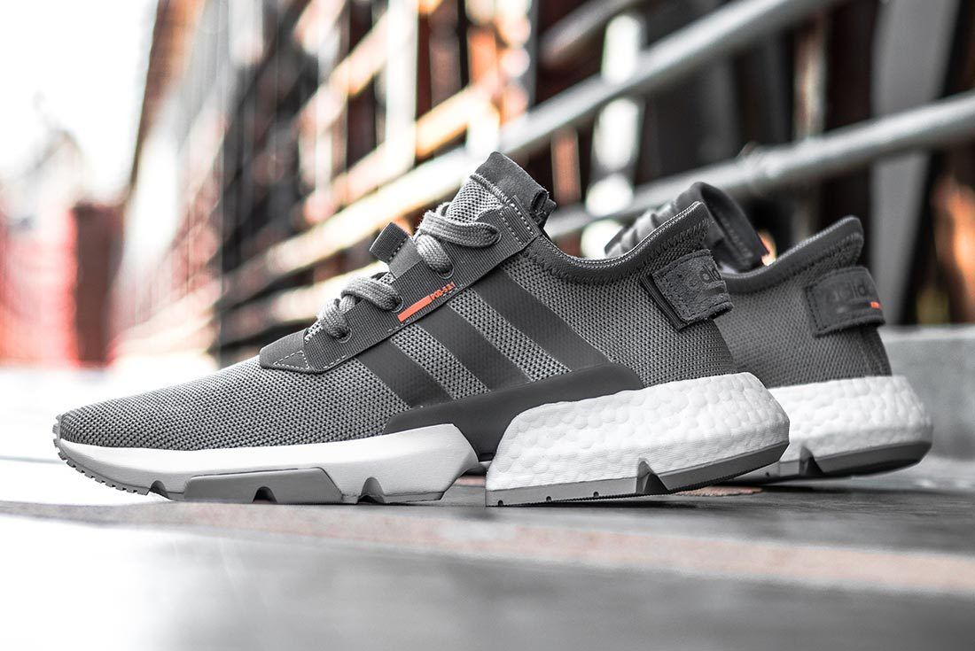 Adidas Pods3 1 Grey Solar Orange Plate 56