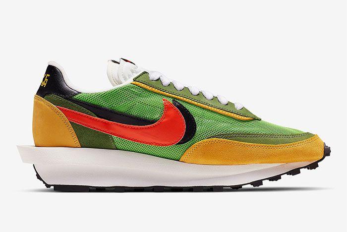Sacai Nike Blazer Wafle Side Shot 7