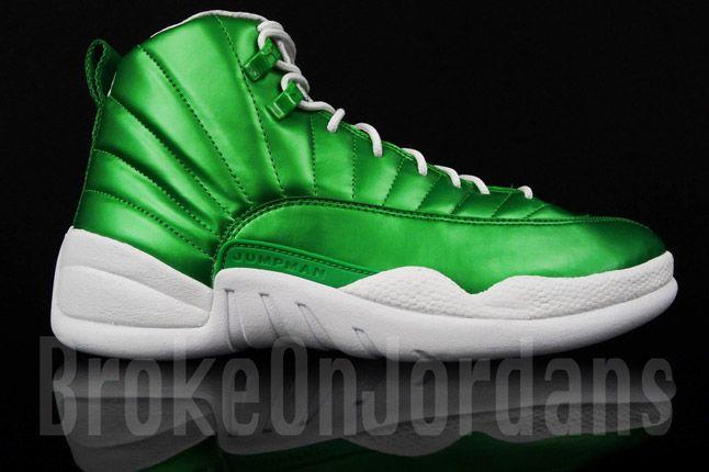 Air Jordan 12 'metallic Green' (Sample