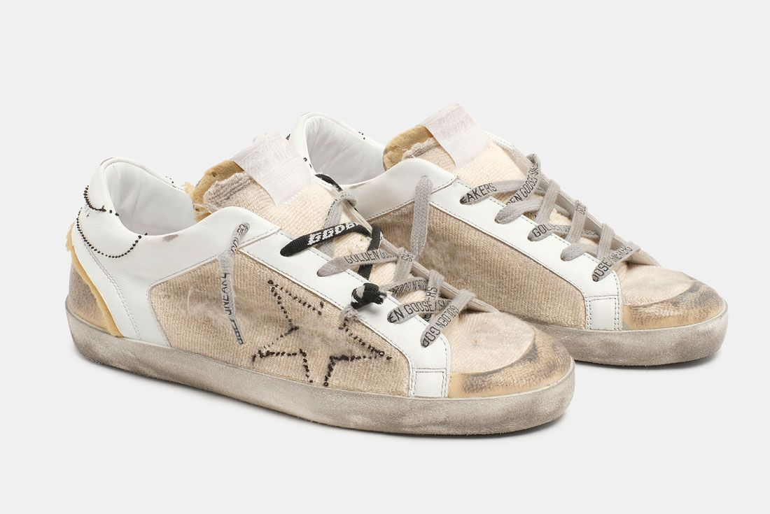 Golden Goose Distressed Shoes