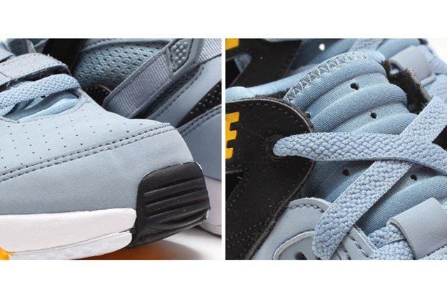 Nike Air Trainer Max 91 Stone Grey Yellow Black 2