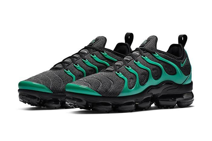 Nike Air Vapormax Plus Green Black 2