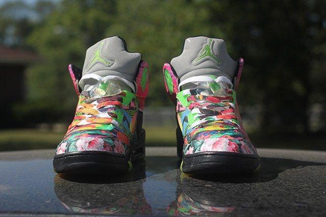 Rbn Custom Air Jordan 5 What The Fresh Prince 1
