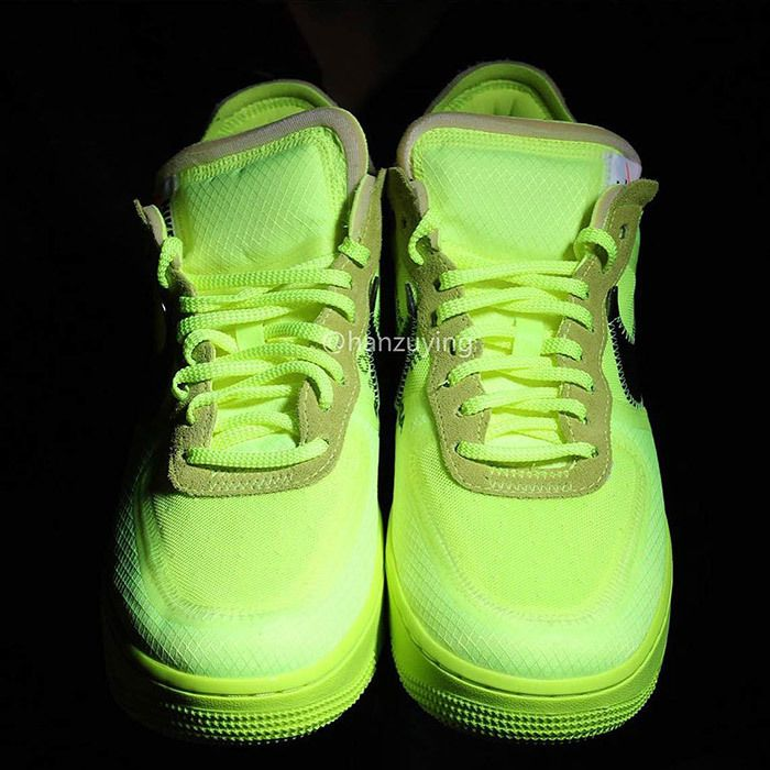 Off White Nike Air Force 1 Low Volt 14
