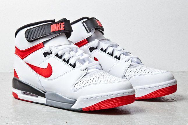 Nike Air Revolution Wht Red 2 1