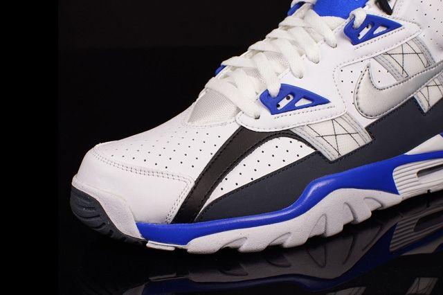Nike Air Trainer Sc High Metallic Platinum Cobalt Blue 2