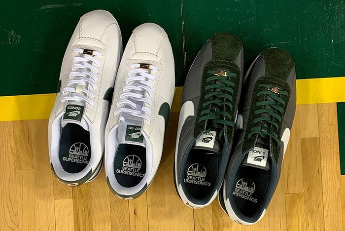Kevin Durant Returns To Seattle Nike Cortez Supersonics 1