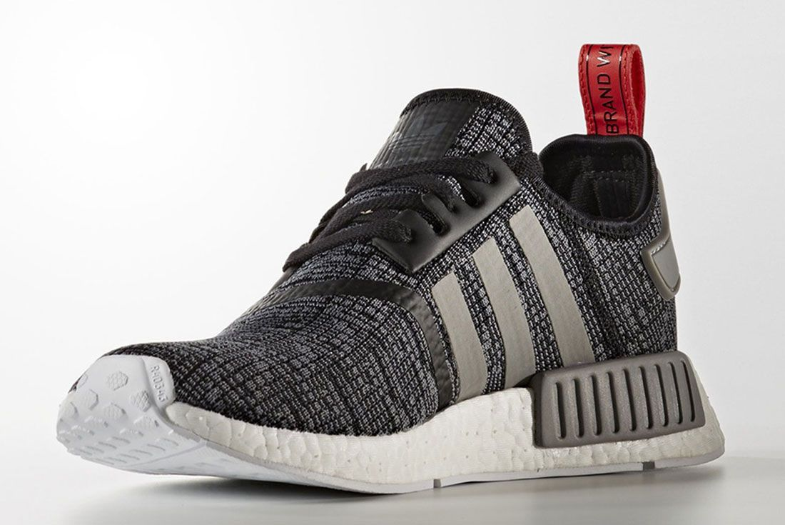 Adidas Nmd R1 Grey Glitch Pack R2