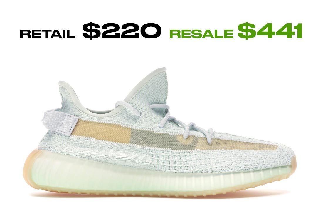 Adidas Yeezy Boost 350 V2 Hyperspace Right Side Shot