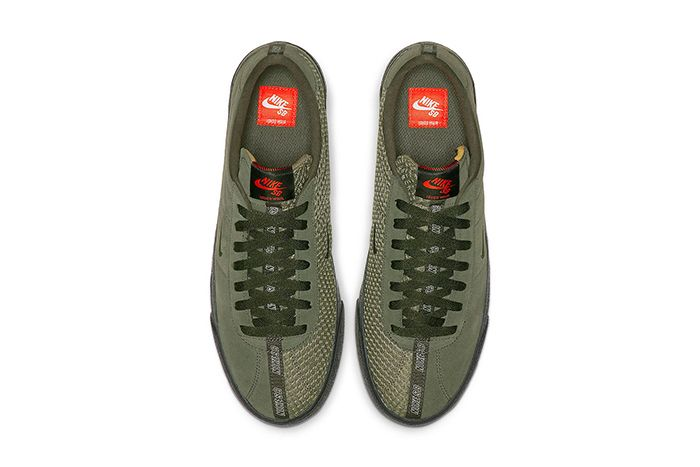 Ishod Wair Nike Sb Bruin Iso Olive Cn8827 300 Release Date Top Down