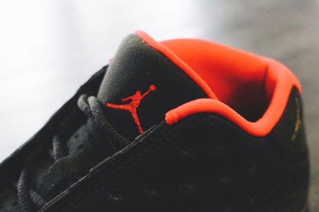 Air Jordan 13 Low Black Red Gold Gs 5