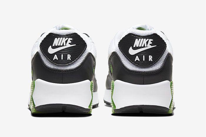 Nike Air Max 90 Chlorophyll Heel