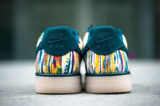 Liberty London Nike Air Force One Downtown Midnight Turquoise 4