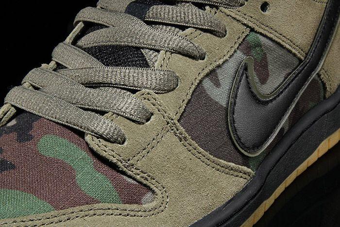 Nike Sb Dunk Low Camo 4
