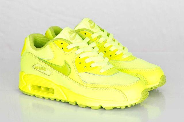 Nike Air Max 90 Gs Volt Fierce Green 5