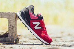 New Balance 574 Red Sweatshirt Thumb