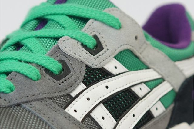 Asics Gel Lyte Iii Green Purple1