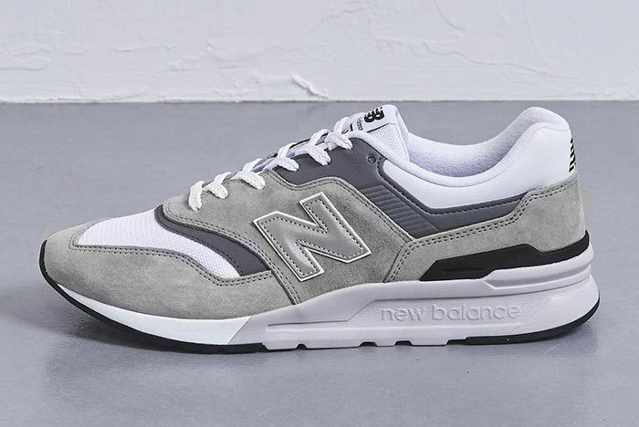 United Arrows New Balance 997 H Grey Left Shot