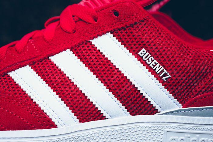 Adidas Busenitz Red Mesh 6