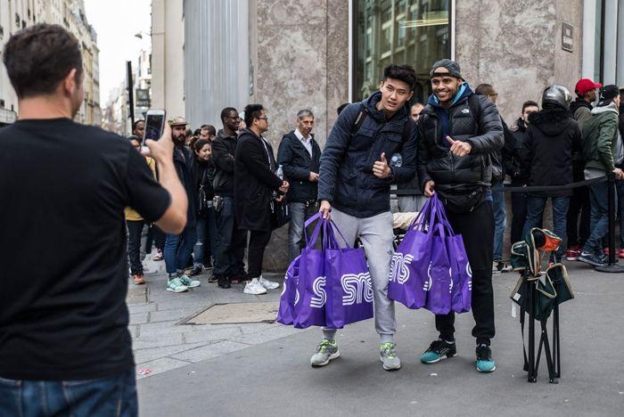 Sneakersnstuff Paris Opening Day 7