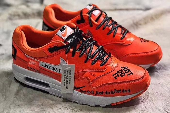 3 Nike Air Max 90 Just Do It Orange