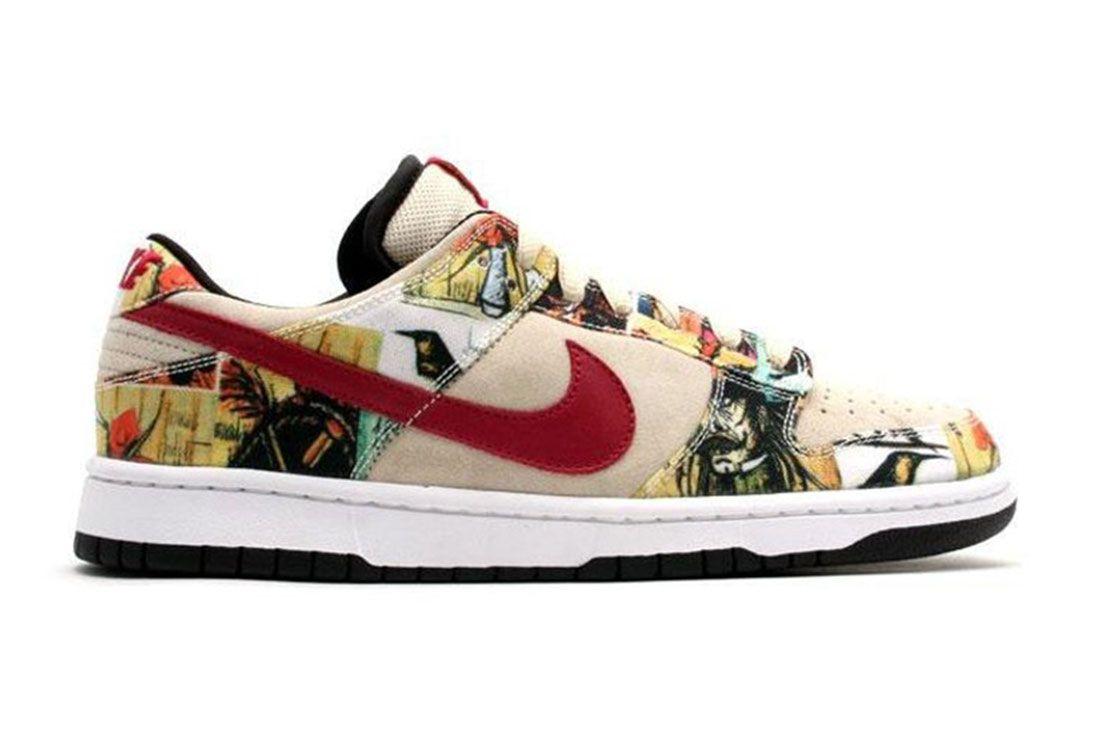 Nike Dunk Sb Low Paris Lateral Side Shot