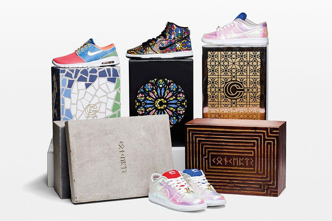 Concepts Nike Sb Holy Grail