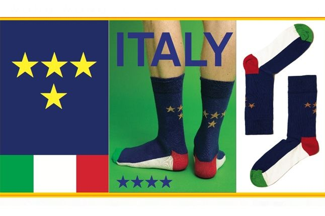 World Cup Socks Wong Wong Italy 1