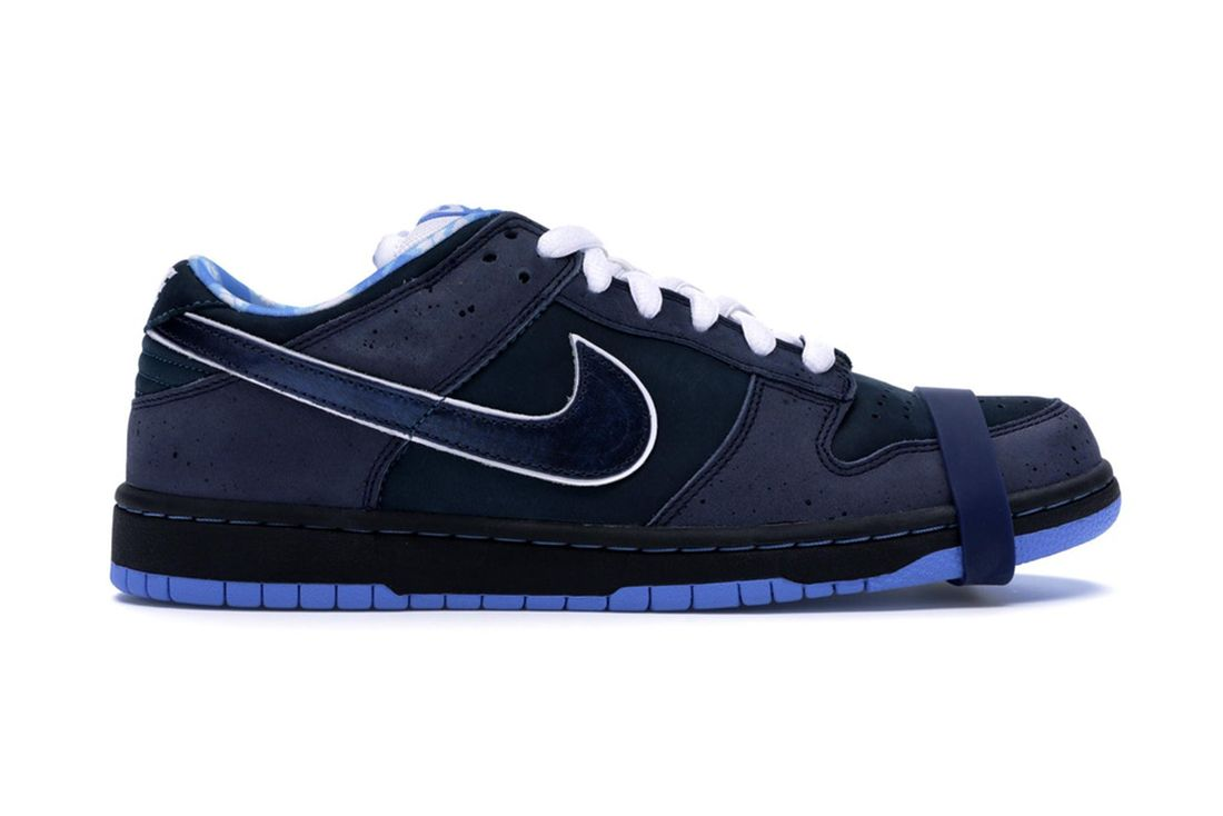 Concepts Nike Sb Dunk Low Blue Lobster 313170 342 Lateral