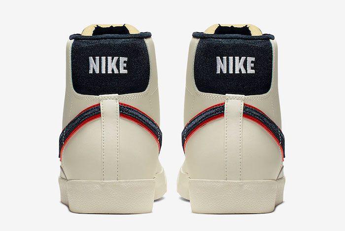 Nike Blazer Mid 77 Vintage City Pride Cd9318 100 Release Date 5 Heel