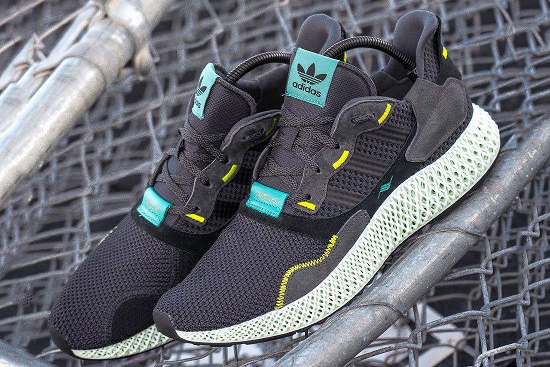 Adidas Zx4000 4D Carbon 1
