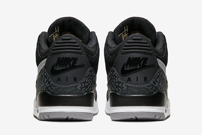 Air Jordan 3 Tinker Black Cement Grey Ck4348 007 Heels