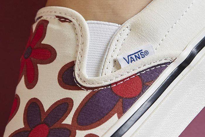 Size Vans Floral Slip On 5