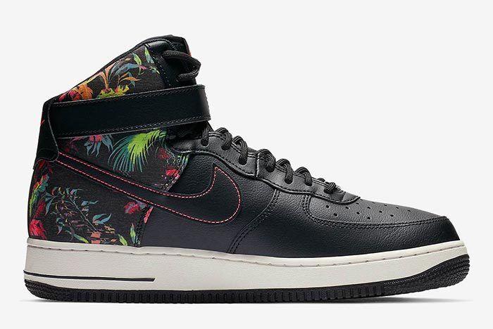 Nike Air Force 1 Floral Side Shot 5