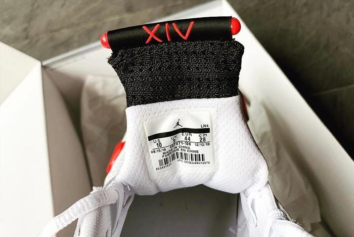 Air Jordan 14 Rip Hamilton Closer Look Tongue