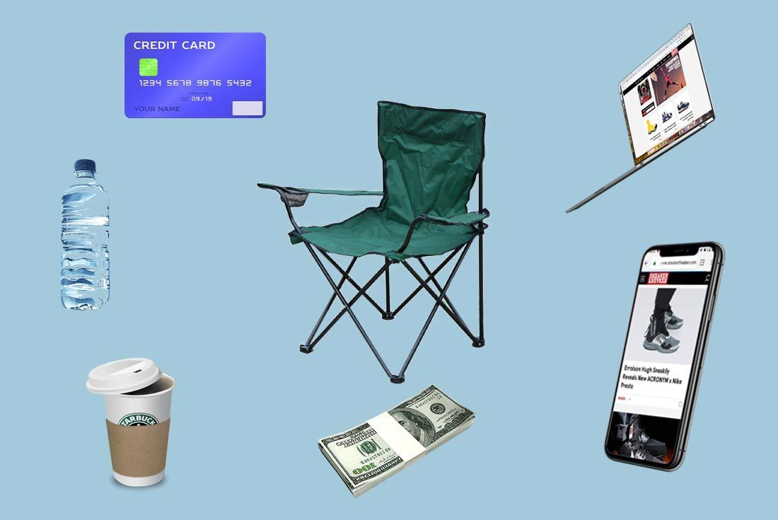 Sneaker Camping Essentials