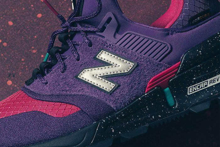 New Balance 997S Cordura Purple Pink Turquiose 2 Side