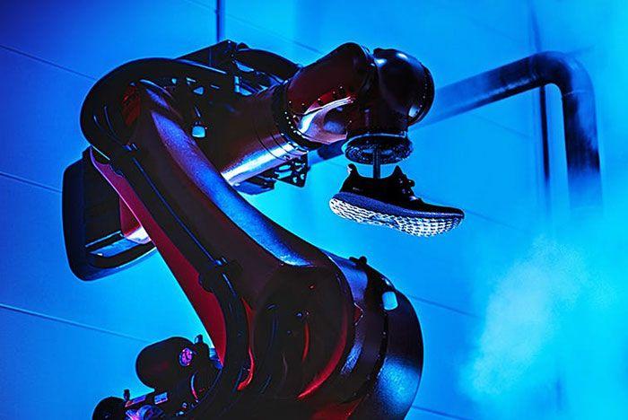 Adidas Speed Factory Robot Arm