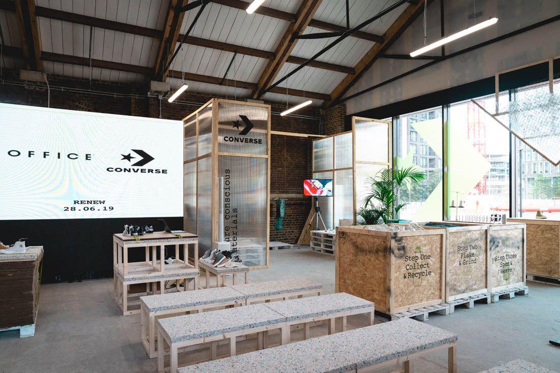 Converse Renew Canvas Coal Drops Yard Pop Up Event Recap 9 Installation