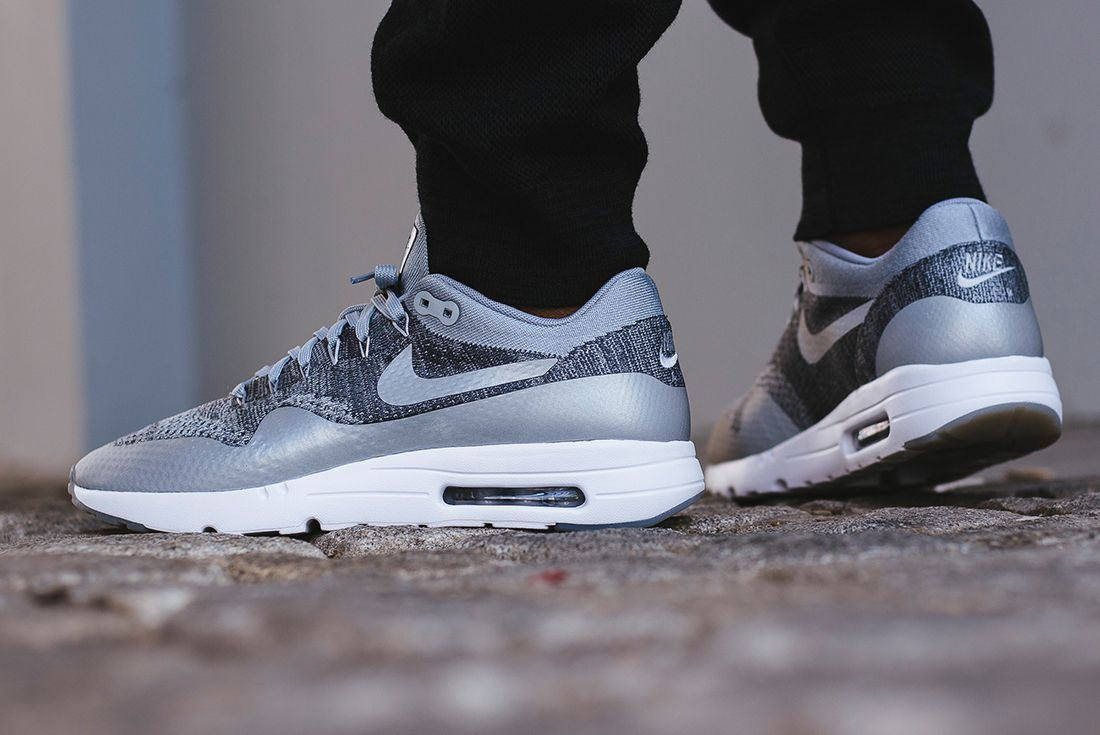 Nike Air Max 1 Ultra Flyknit Wolf Grey11