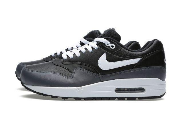Nike Air Max 1 Black Dark Grey 3