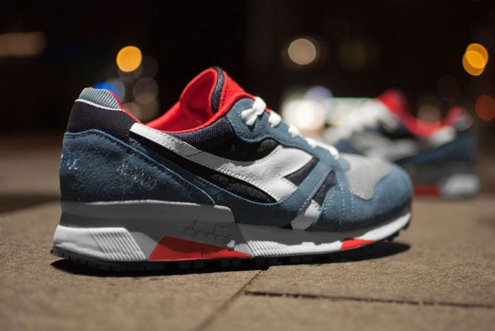 Patta X Diadora N9000 Back Side Outside