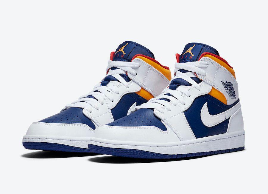 Air Jordan 1 Mid Angled