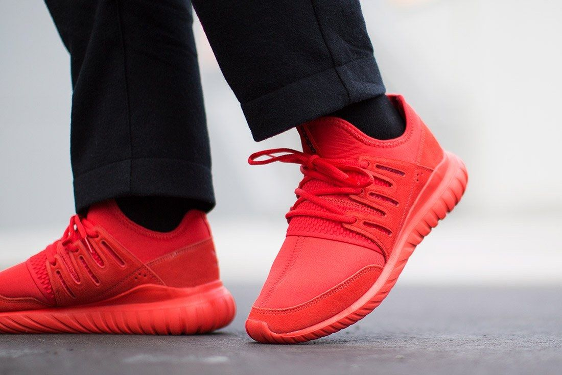 Adidas Tubular Radial Red 2