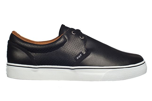 Huf Fall 2012 Footwear Genuine Blk Perf Wht 1
