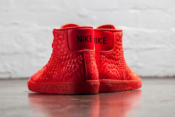 Nike Blazer Mid Dmb Bright Crimson 3